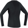 GORE® M Women Base Layer Thermo Long Sleeve Shirt - Black