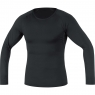 GORE® M Base Layer Long Sleeve Shirt - Black