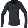GORE® M Women GORE® WINDSTOPPER® Base Layer Thermo L/S Shirt - Black