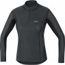 GORE® M Women GORE® WINDSTOPPER® BaseLayer Thermo Turtleneck - Black