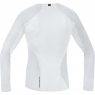 GORE® M GORE® WINDSTOPPER® Base Layer Thermo L/S Shirt - Light Grey / White