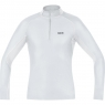 GORE® M GORE® WINDSTOPPER® Base Layer Thermo Turtleneck - Light Grey / White