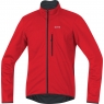 GORE® C3 GORE® WINDSTOPPER® Soft Shell Jacket - Red