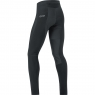 GORE® C3 Partial GORE® WINDSTOPPER® Tights+ - Black