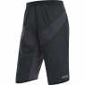 GORE® C5 GORE® WINDSTOPPER® Insulated Shorts - Black / Terra Grey