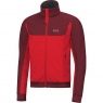 GORE® R3 GORE® WINDSTOPPER® Thermo Jacket - Red / Chestnut Red