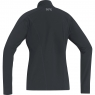 GORE® R3 Women Thermo Long Sleeve Zip Shirt - Black