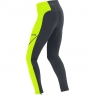 GORE® R3 Thermo Tights - Black / Neon Yellow