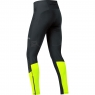 GORE® R5 GORE® WINDSTOPPER® Tights - Black / Neon Yellow