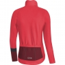 GORE® C5 Women Thermo Jersey - Hibiscus Pink / Chestnut Red