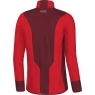 GORE® C5 Partial GORE® WINDSTOPPER® Insulated Jacket - Red / Chestnut Red