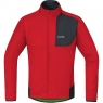 GORE® C5 GORE® WINDSTOPPER® Thermo Trail Jacket - Red / Black
