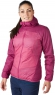 WOMEN'S VAPOURLIGHT HYPERTHERM REVERSIBLE HOODY - Hot Raspberry / Dark Ceris