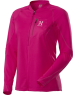 LADIES SCRAMBLE Q LS ZIP TEE - Cosmic Pink