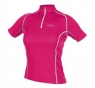 CONTEST LADY Jersey - Berry Red / White