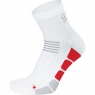 SPEED Socks mid - White / Red