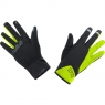 POWER GWS Gloves - Black / Neon Yellow