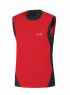 AIR TANK top - Red / Black