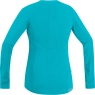 AIR LADY Shirt long - Scuba Blue