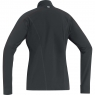 ESSENTIAL THERMO LADY Shirt - Black / Lumi Orange