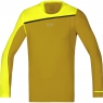 FUSION Shirt long - Golden Oak / Cadmium Yellow