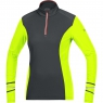 MYTHOS 2.0 THERMO LADY Shirt - Black / Neon Yellow