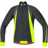 OXYGEN Thermo Jersey Long - Black / Neon Yellow