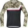 POWER TRAIL Jersey long - Camouflage / Black