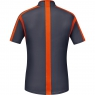 AIR Zip Shirt - Graphite Grey / Blaze Orange