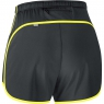 ESSENTIAL LADY Split Shorts - Black / Cadmium Yellow
