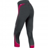 ESSENTIAL LADY Tights 3/4 - Black / Jazzy Pink