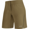 ELEMENT LADY Shorts - Olive / Neon Yellow