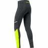 MYTHOS 2.0 Tights long - Black / Neon Yellow