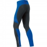 MYTHOS 2.0 Thermo Tights - Black / Brilliant Blue