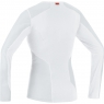ESSENTIAL BL WS LADY Thermo Shirt long - Light Grey / White