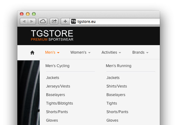 Shopping Online with TG Store